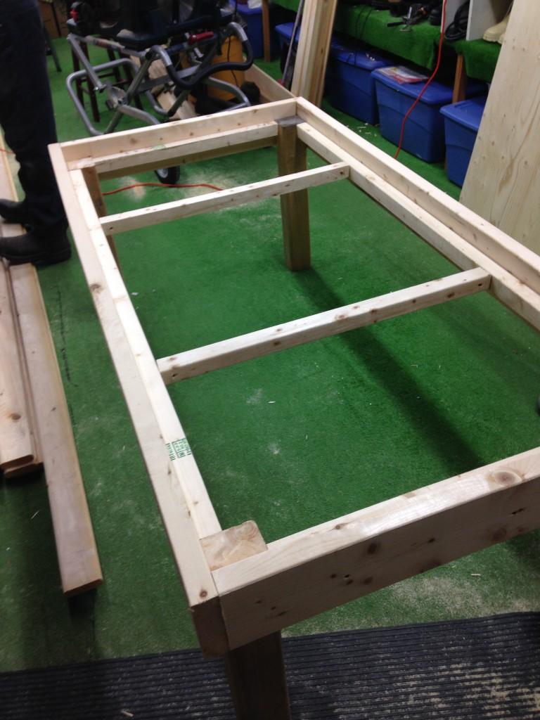 bench framing