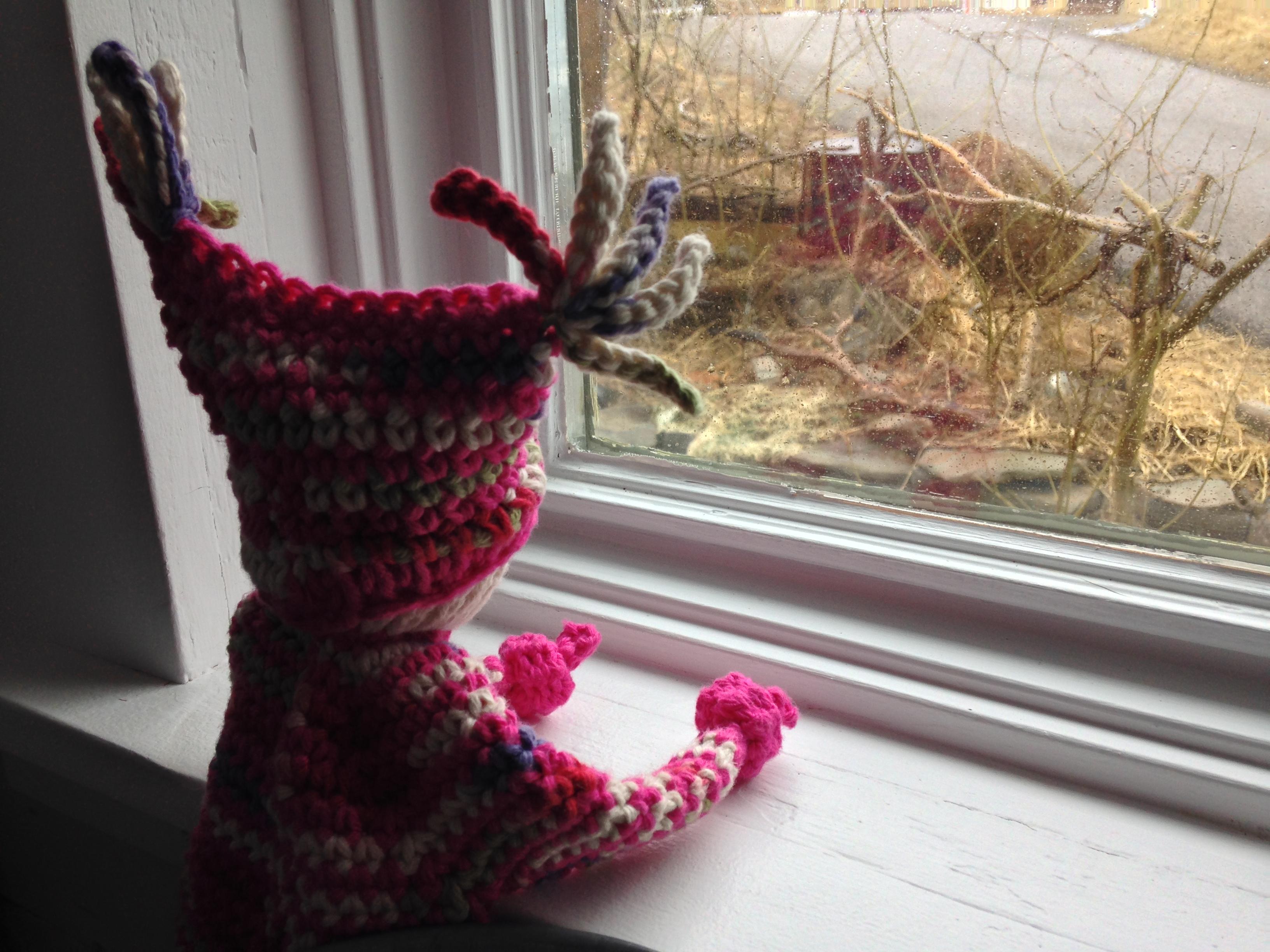 Crochet Waldorf Doll